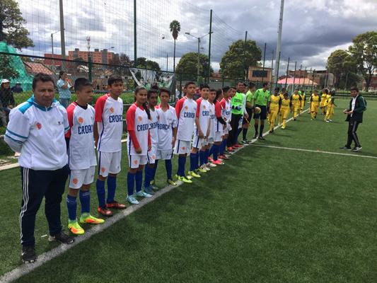 Formacion de San Pablo (Croacia), mundialito 2018, estadio Olaya Herrrera