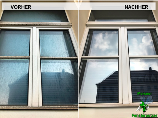 Meixner Fensterputzer Rahmenreinigung