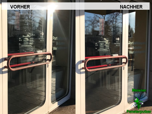 Meixner Fensterputzer Ladengschäfft
