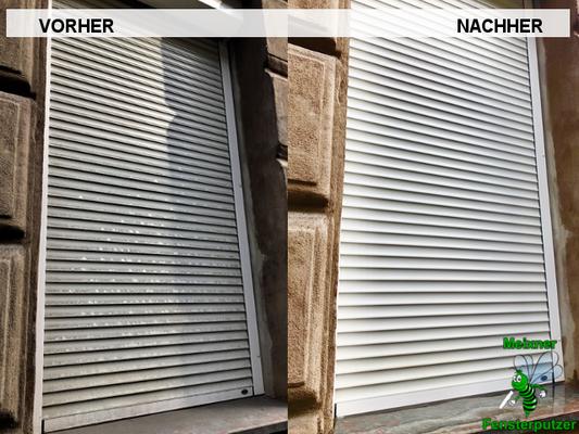 Meixner Fensterputzer Strassenschmutz
