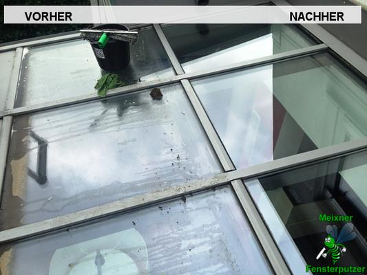 Meixner Fensterputzer Wintergarten