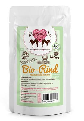 Katzenliebe Bio Rind
