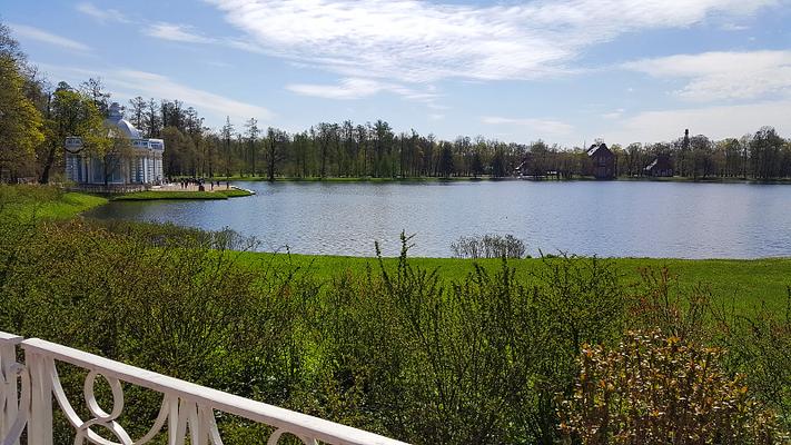 Der Schlosspark des Katharinenpalastes