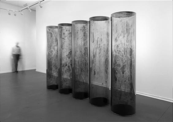 Erich Reusch Kunstobjekte  – Elektrostatische PMMA-Rohre von ATHEX