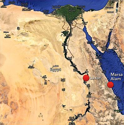 Ägypten mit Luxor und Marsa Alam / Port Ghalib