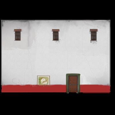 DOMUS_SCAPE3D: texture del prospetto posteriore