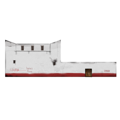 DOMUS_SCAPE3D: texture del prospetto laterale B