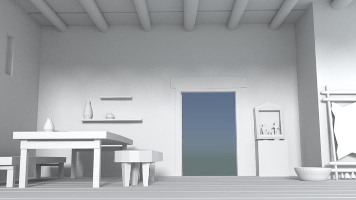SCAPE3D_MATER scenografia 3d: Casa della Fanciulla