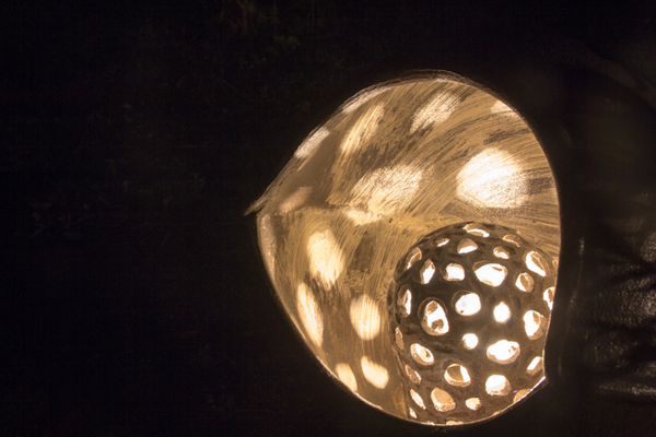 陶の灯り①