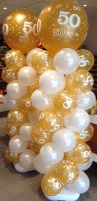 Ballonpilaar PILAAR02 €45,00 ( Hoogte 1m80)