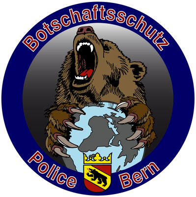 Polizei Bern, Botschaftsschutz, Badge 2016