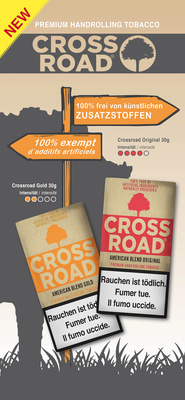 Crossroad, Roll-Up, 2018, Oettinger Davidoff AG