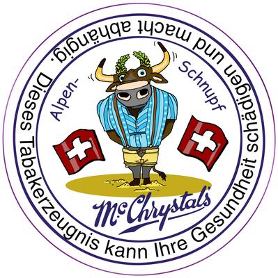 Mc Chrystal`s Schnupftabak, Swiss Edition, 2015, Säuberli AG