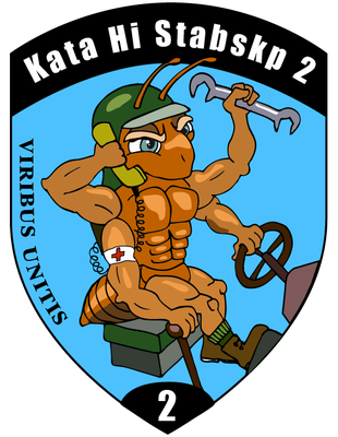 Kata Hi Stabskp 2, Badge 2014