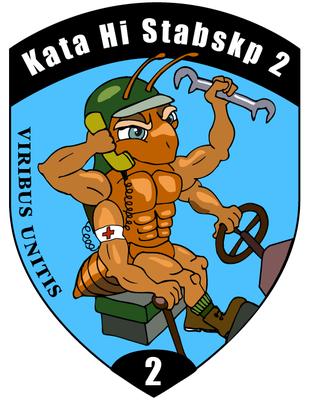 Kata Hi Stabskp 2, Badge 2014