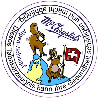 Mc Chrystal`s Schnupftabak, Swiss Edition, 2015, Säubeli AG
