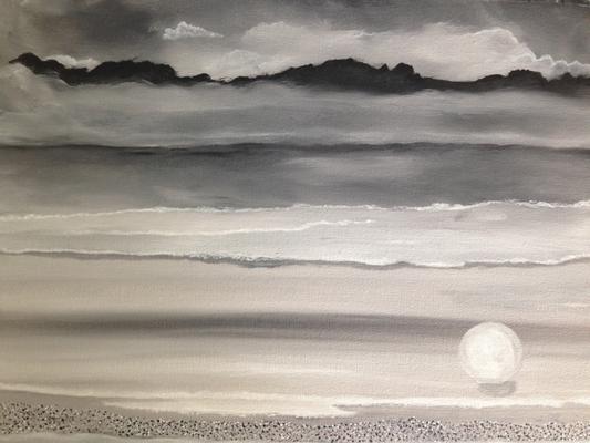 Pearl / Canvas Sheet 30x40cm