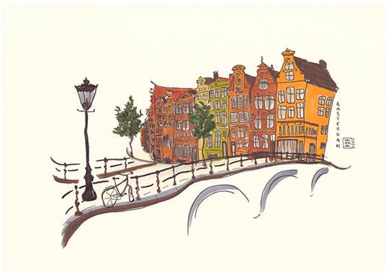 "Title: Series ""Amsterdam Impressions"" 2016"