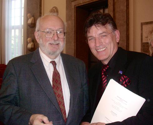 Prof. Paul Christian Lauterbur, Nobelpreis für Medizin in 2003 für seine Erfindung der Kernspintomographie