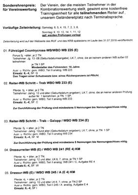 Ausschreibung - Seite 2