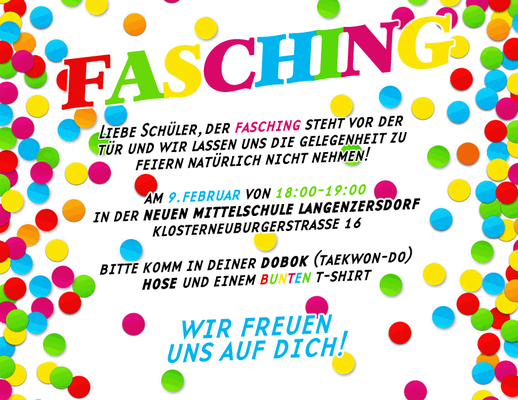 Event Fasching 2016