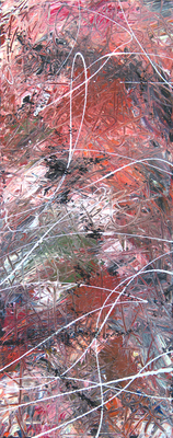 white line - Acryl auf Leinwand,  20x50 cm, 2015,  S. Ulrich