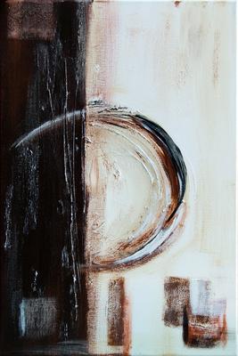 Circle - Acryl auf Leinwand, 40x60 cm, 2013, U. Schachner