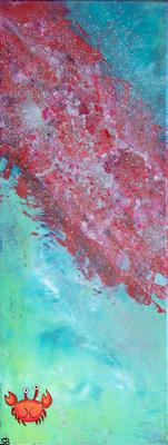 red river - Acryl auf Leinwand,  30x80 cm, 2013,  S. Sonntag