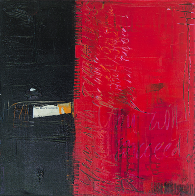 You don't succeed - Acryl auf Leinwand, 60x60 cm, 2016, S. Ulrich