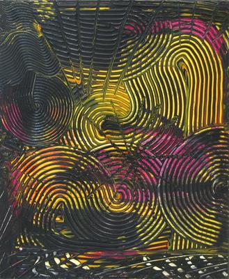 e-motion - Acryl auf Leinwand, 50x60 cm, 2006, A. Wurzinger