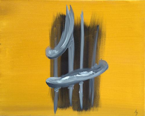 vascular - Acryl auf Leinwand,  50x40 cm, 2015, A. Bellaire