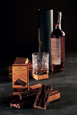 Legendary Scorza dark crumbly chocolate with Rum (38g)
