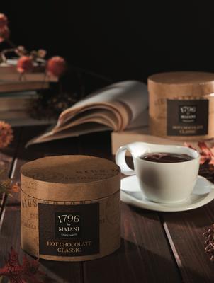 Hot chocolate powder in vintage case (200g)