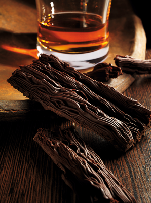 Legendary Scorza dark crumbly chocolate