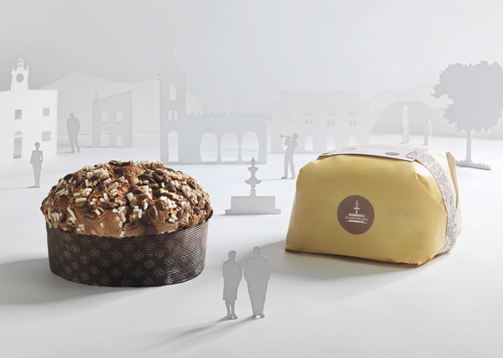 Panettone pineapple & apricot hand wrap (1kg)