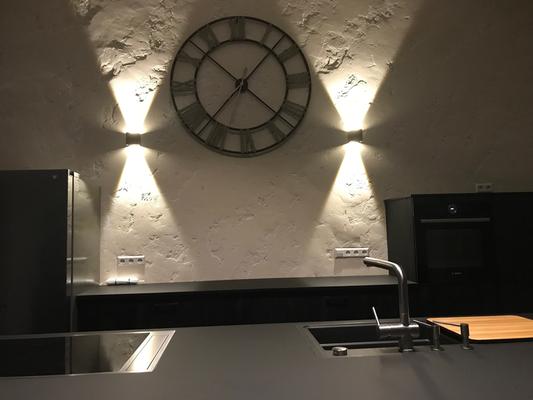 Wandgestaltung Küche - stucco-decor - Kreative ...