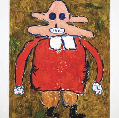 André Butzer at Nino Mier Gallery