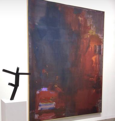 Helen Frankenthaler and Joel  Shapiro at Lévy Gorvy