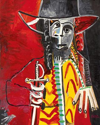 Pablo Picasso at Acquavella