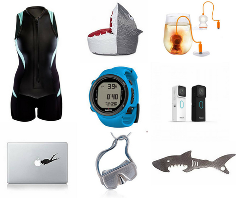 Gifts for scuba divers