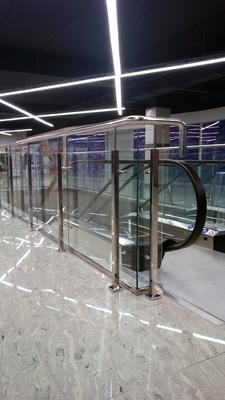 Ограждения из нержавеющей стали и закаленного стекла