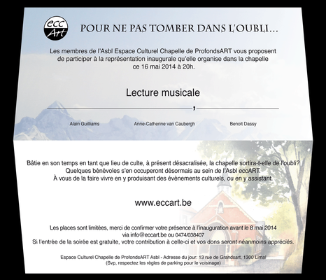 2014 Inauguration Lecture Musicale