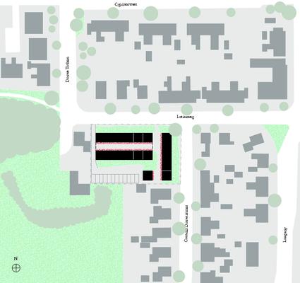 Locatie met verkaveling