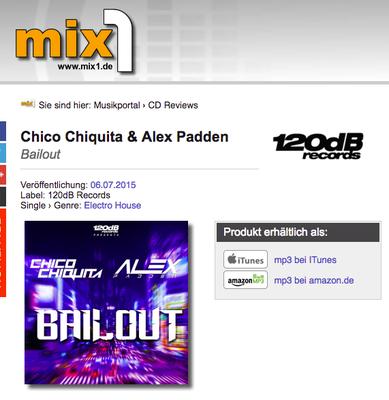 Mix1.de / Chico Chiquita - Bailout