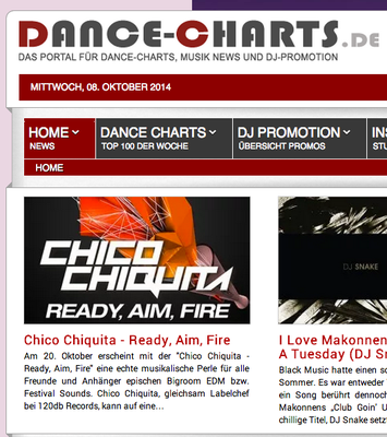 dance-charts.de / Chico Chiquita - Ready, Aim, Fire