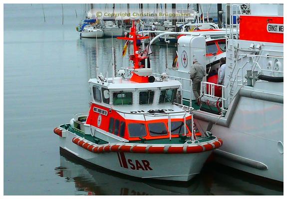 Seenotrettungsboot HORST HEINER KNETEN in Wittdün/Amrum 25.07.2015
