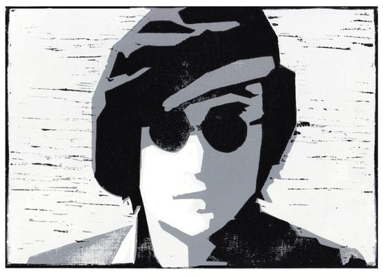 John Lennon, Linolschnitt