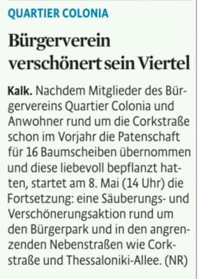 Kölner Stadt-Anzeiger, 3.5.2016