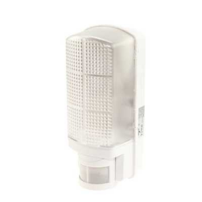 Bulkhead White with PIR Sensor
