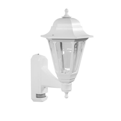 Coach Lantern White with PIR Sensor
